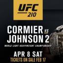 UFC210fight